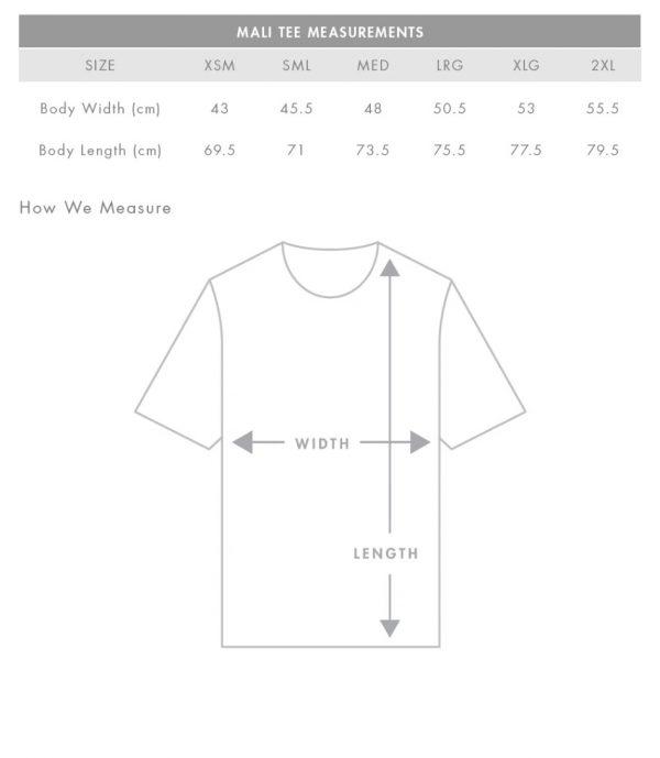 essential tshirt sizing guide