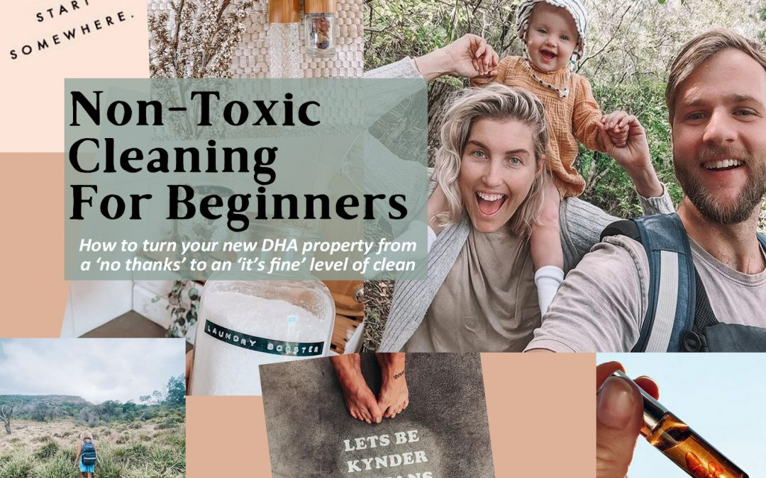 Non Toxic Cleaning for Beginners