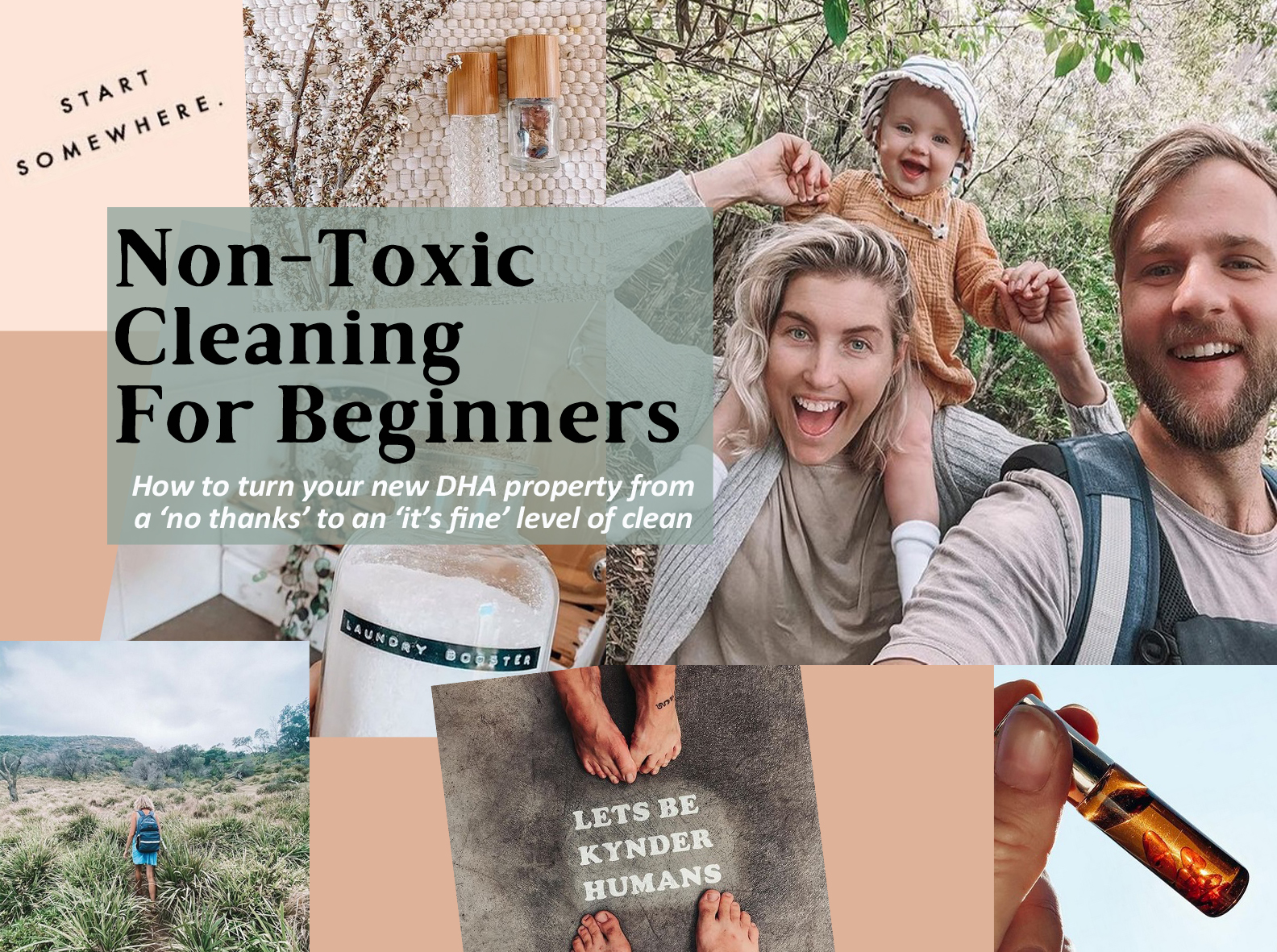 To tell military spouses about some easy non toxic cleaning recipes